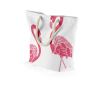 Flamingo shopper of strandtas 43 x 37 x 17 cm