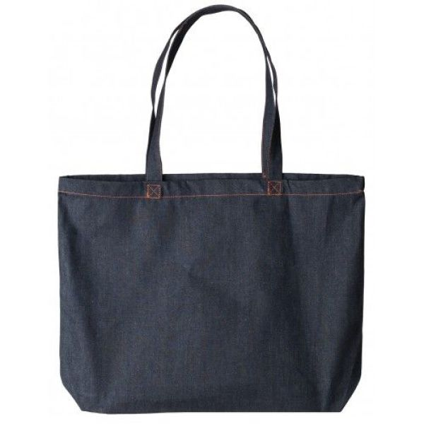 S-star Canvas denim super shopper 48 x 36 + 11 cm 380 grams